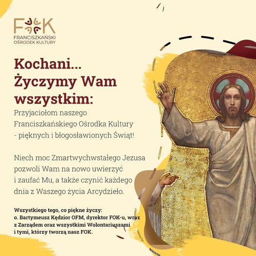 życzenia Wielkanoc 2021 - FOK